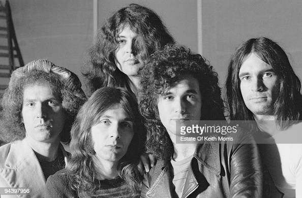 The Ian Gillan Band March 1977 From left to right Ray Fenwick Colin Towns Ian Gillan Mark Nauseef and John Gustafson