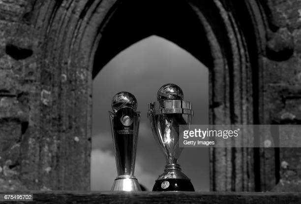 The ICC Champions Trophy and ICC Women's World Cup arrive in Somerset for the first of seven stops on the 500 mile Nissan Trophy Tour around England...