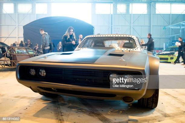 The Ice Charger version of the 1970 Dodge Charger R/T used on screen by Vin Diesel as the signature car of his character Dominic Toretto in The Fate...
