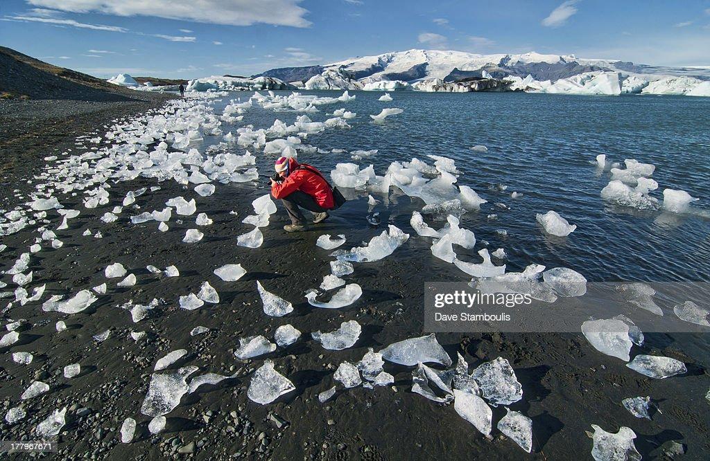 CONTENT] The iceberg lagoon at Jökulsárlón in Vatnajökull National Park Iceland