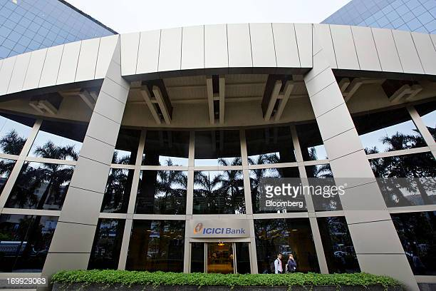The ICICI Bank Ltd head office stands in Mumbai India on Monday June 3 2013 ICICI Bank India's largest private lender predicts 10year sovereign bond...