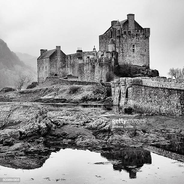 CONTENT] The iconic Eilean Donan Castle in the Highlands of Scotland Image taken near Dornie Kyle of Lochalsh