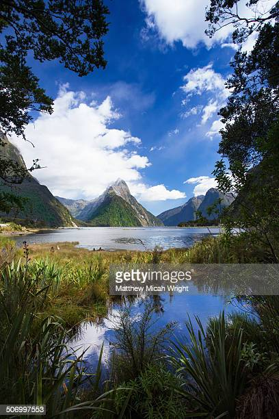The iconic Mitre Peak of Milford Sound