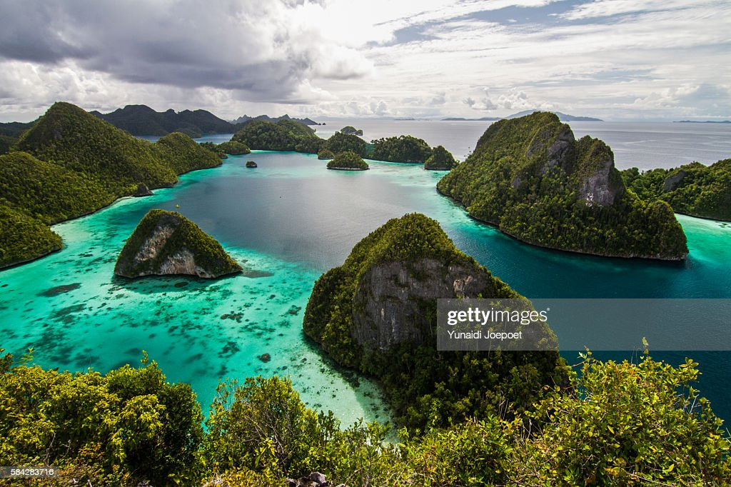 The Iconic of Wayag Island, Raja Ampat, Indonesia