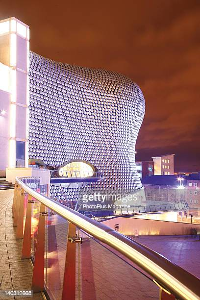 The iconic Selfridges building in Birmingham Bull Ring shopping district taken on February 25 2009