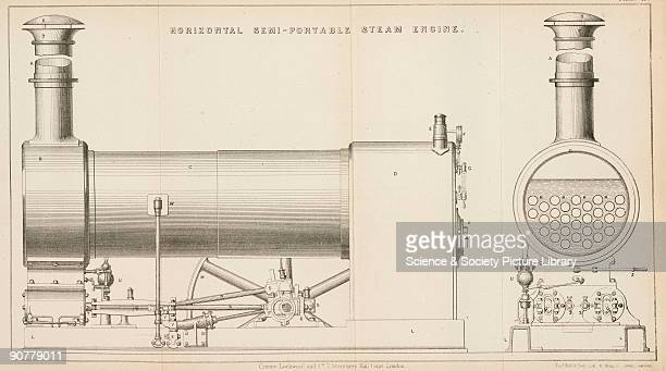 The idea of a portable steam engine became practicable with the introduction of highpressure noncondensing engines pioneered by the Cornish engineer...