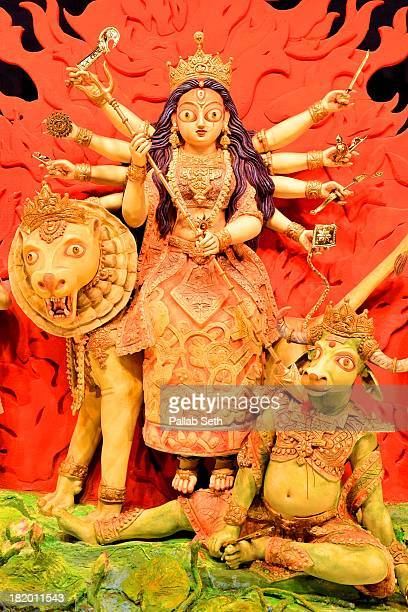 The Idol of Durga, the Mother Goddess