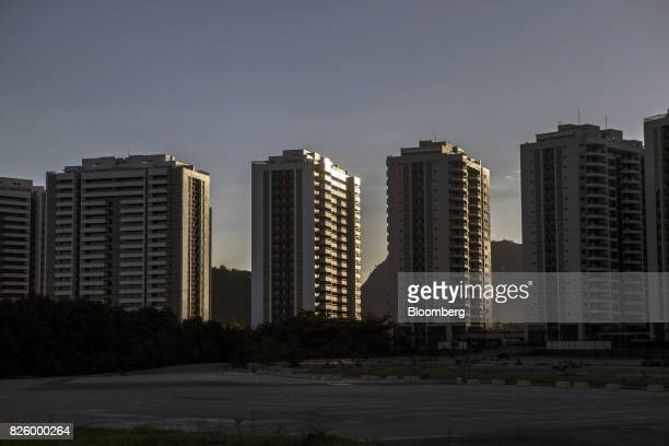 The Ilha Pura property604 empty luxury apartments used by more than 18000 athletes during the Olympic games stands in the Barra da Tijuca...
