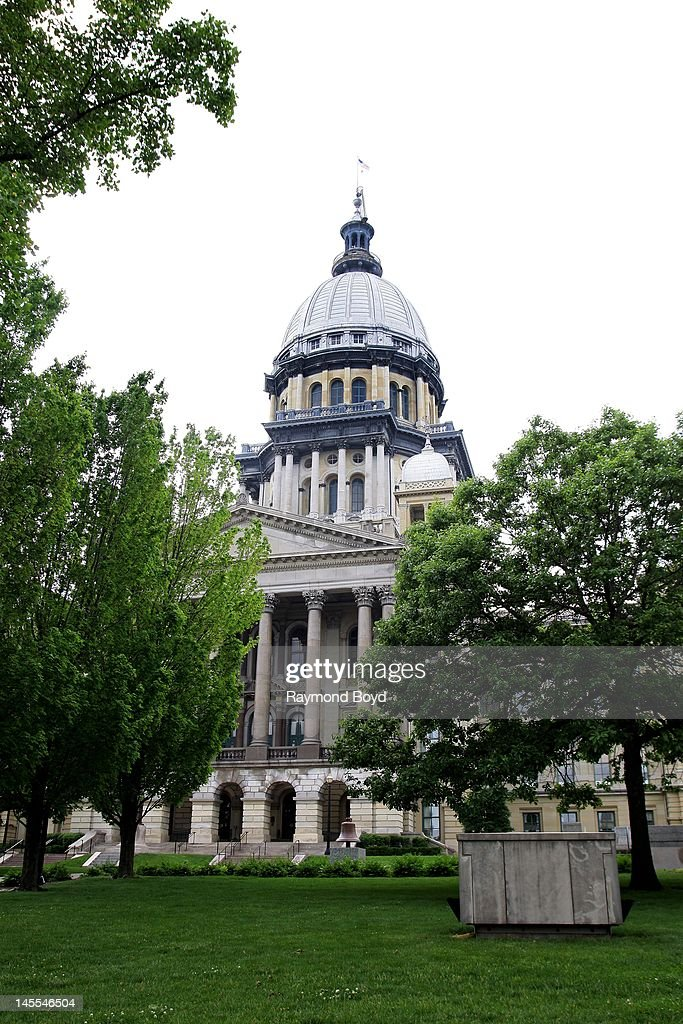 The Illinois State Capitol Building in Springfield Illinois on MAY 05 2012