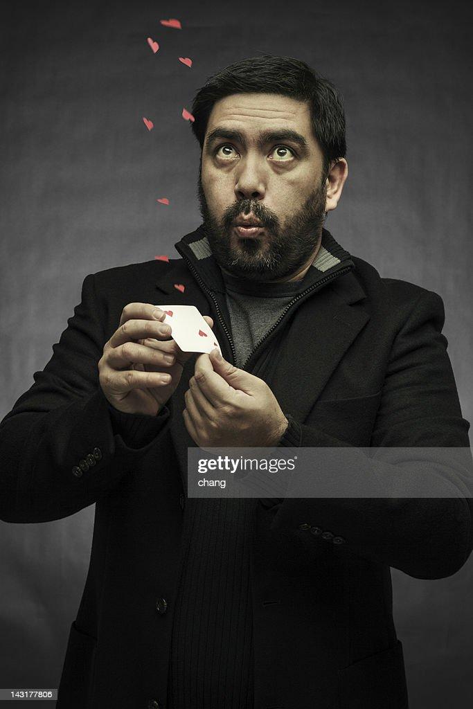 The illusionist : Stock Photo