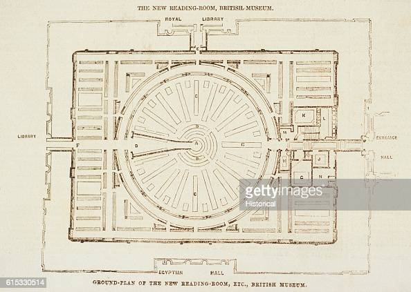 Plan of the reading room at the british museum pictures for Reading a floor plan