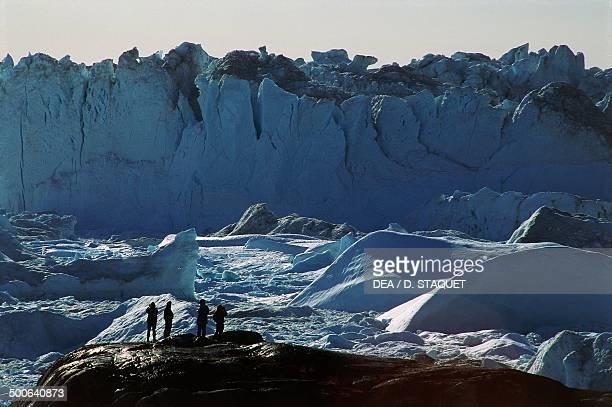 The Ilulissat Icefjord Disko Bay Greenland Denmark
