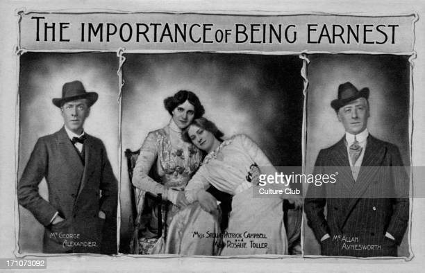 'The importance of being earnest' 'The importance of being earnest' Comedy by Oscar Wilde Production at St James's Theatre with George Alexander Miss...