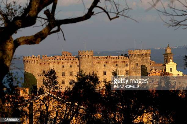 The imposant medieval Odescalchi castle in Bracciano near Rome could be the location for the wedding of Tom Cruise and Katie HolmesThe couple...