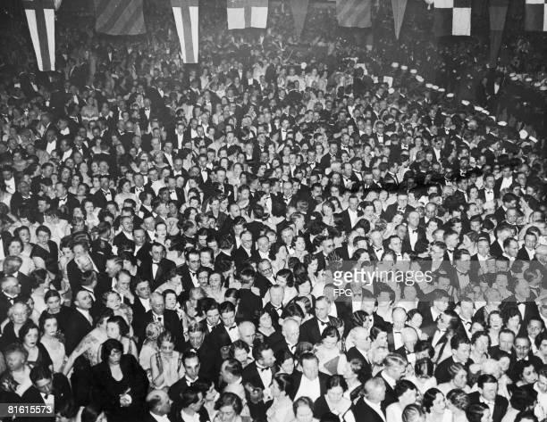 The Inaugural Ball takes place in Washington DC circa 1925