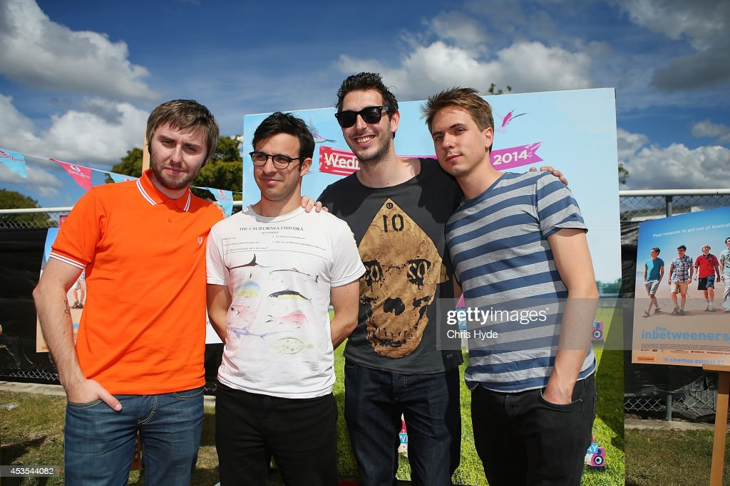 The Inbetweeners Make Special Appearance At Brisbane Race Day
