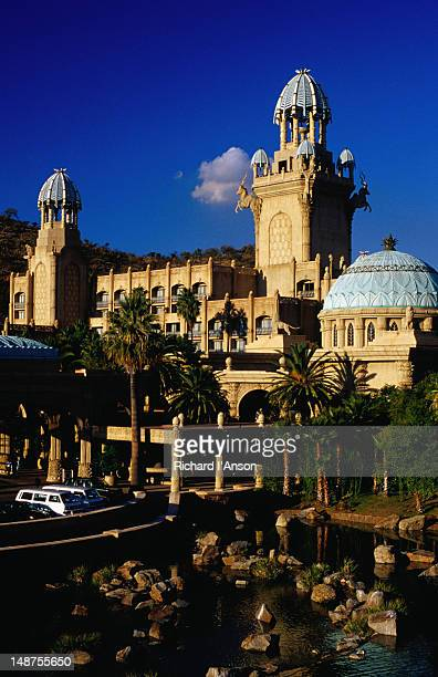 The incredibly opulent Palace of the Lost City Hotel