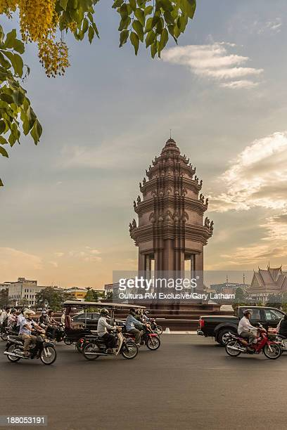 The Independence Monument, Phnom Penh, Cambodia