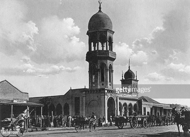 The Indian Mosque Durban South Africa Large numbers of indentured labourers were brought to Natal from India by the British in the 19th century As a...