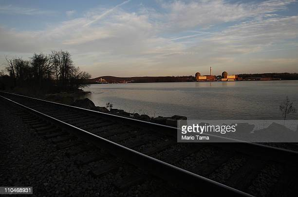 The Indian Point nuclear power plant is seen March 18 2011 in Buchanan New York The US Nuclear Regulatory Commission has calculated that the US...