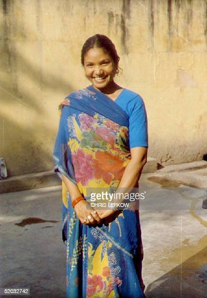 The Indian Supreme Court 18 February 1994 ordered the release on parole of Phoolan Devi shown in this 11 November 1993 file photo at New Delhi's...