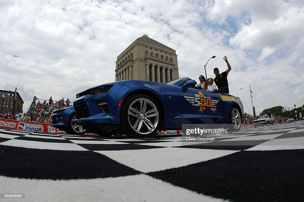 The Indianapolis 500 parade rolls through downtown prior to the 100th running of the Indianapolis 500 at Indianapolis Motorspeedway on May 28, 2016 in Indianapolis, Indiana.