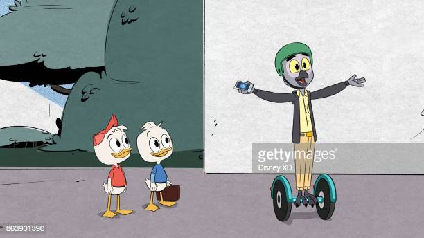 DUCKTALES 'The Infernal Internship of Mark Beaks' Huey competes with Dewey for a coveted internship with Duckburg's newest tech billionaire Mark...