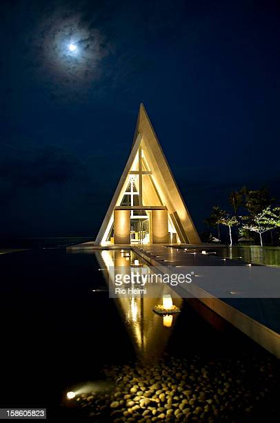 The Infinity wedding chapel at the Conrad in Nusa Dua Bali