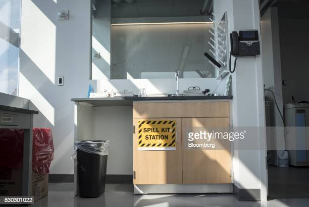 The inside of a laboratory is seen in the Alexandria LaunchLabs space at the Alexandria Center For Life Science in New York US on Thursday Aug 3 2017...