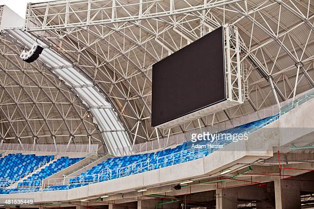 The inside of Arena das Dunas in Natal Brazil.