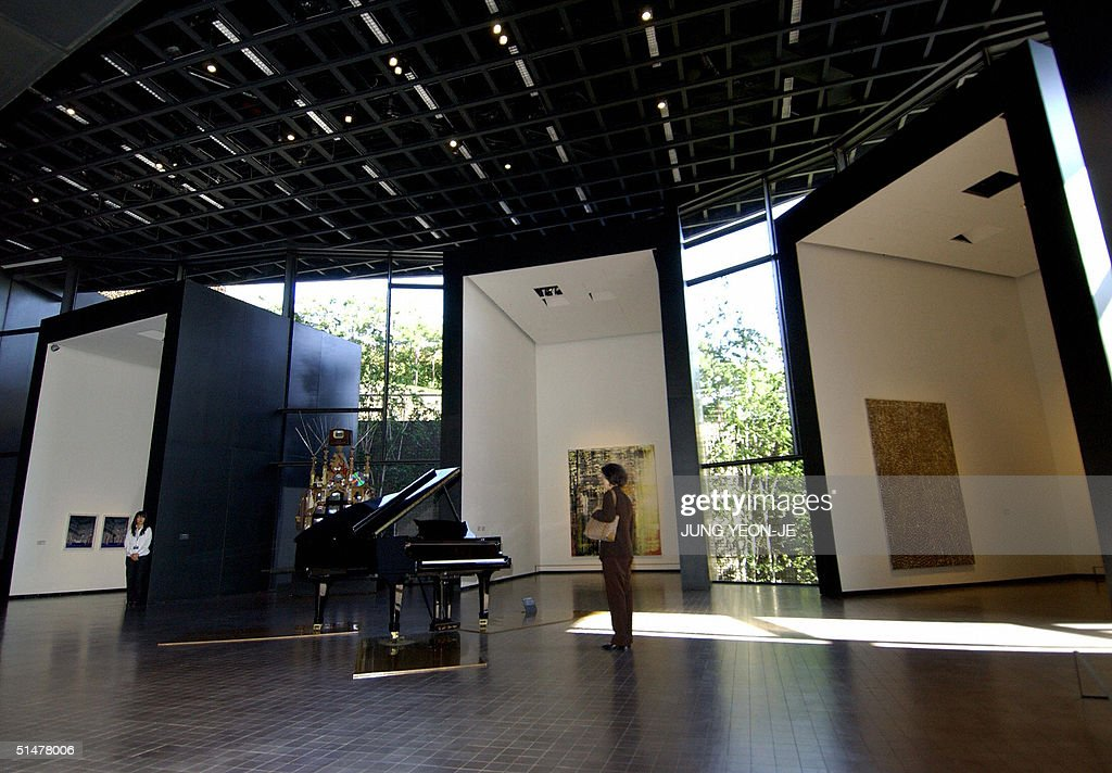 French Architect the inside of leeum museum 2, designed b pictures | getty images