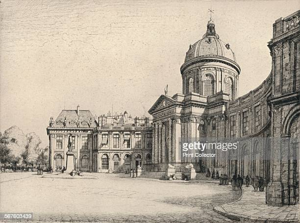 'The Institut de France' 1915 From Paris Past and Present [London Offices of the Studio London 1915]
