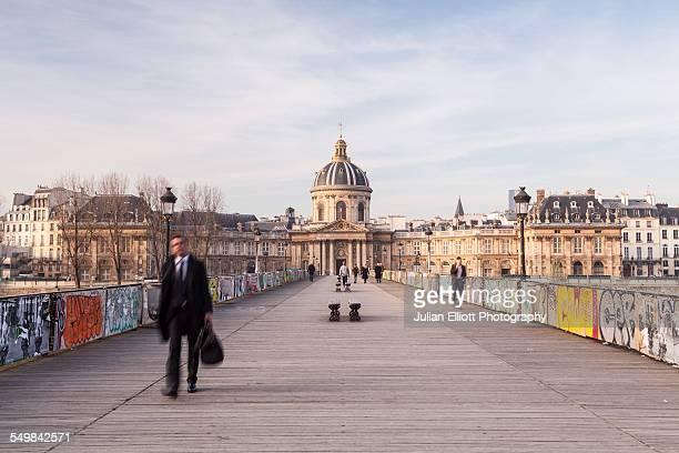 The Institut de France and the Pont des Arts