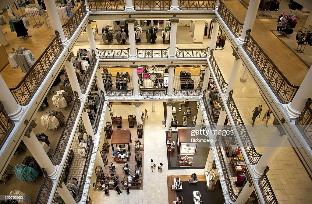 The interior a Macy's Inc. store is seen in Chicago, Illinois, U.S., on Tuesday, Aug. 9, 2011. Macy's Inc. will announce second quarter earnings on August 10. Photographer: Daniel Acker/Bloomberg via Getty Images