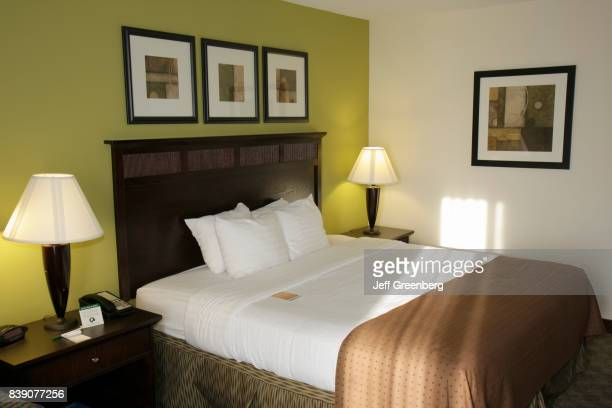The interior of a guest room at Holiday Inn in Tanglewood