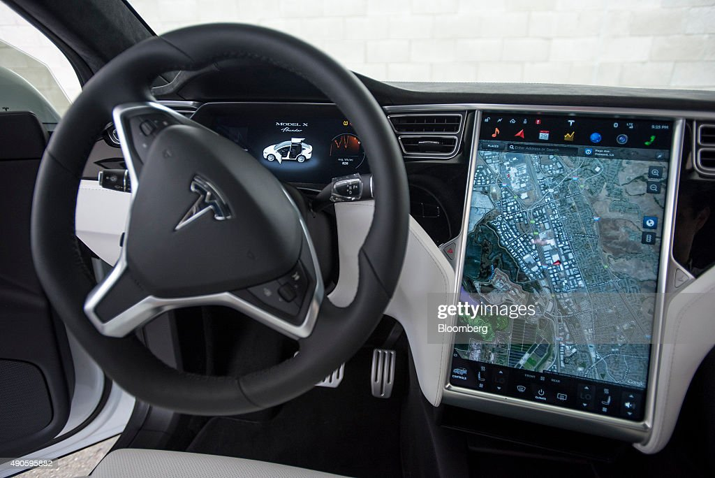 Tesla Motors Inc Model X Suv Reveal Getty Images