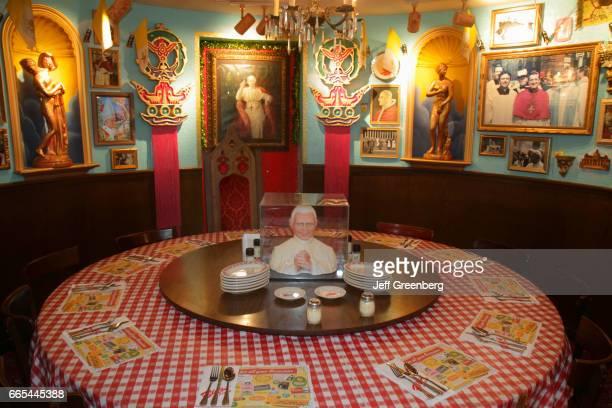 The interior of Buca di Beppo Italian Restaurant