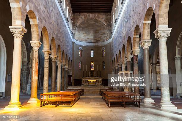 The interior of Chiesa San Frediano, Lucca