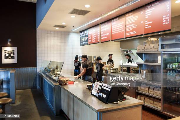 The interior of Chipoltle at Port Saint Lucie