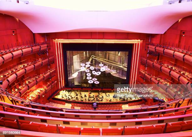 The interior of Stavros Niarchos Cultural center is photographed for Madame Figaro on January 1 2000 in Athens Greece CREDIT MUST READ Polly...