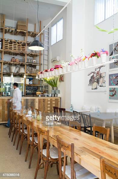 The Interior Of Tawlet Cafe In Beirut Meaning Kitchen Pictures