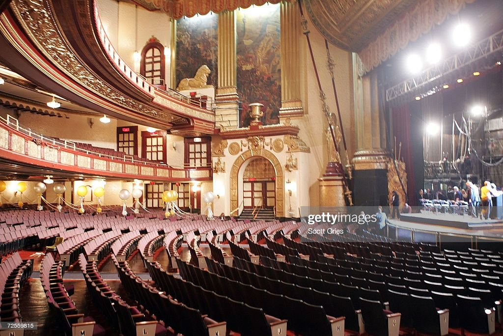 The interior of the Beacon Theater is seen prior to a press conference to announce that MSG Entertainment will acquire the Beacon Theater on November 15, 2006 in New York City.