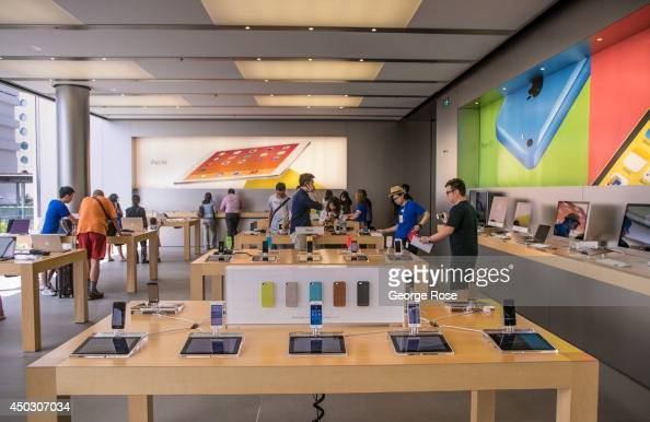 The interior of the downtown Apple Store in Central Hong Kong is viewed on May 27 in Hong Kong China Viewed as the world's third most important trade...