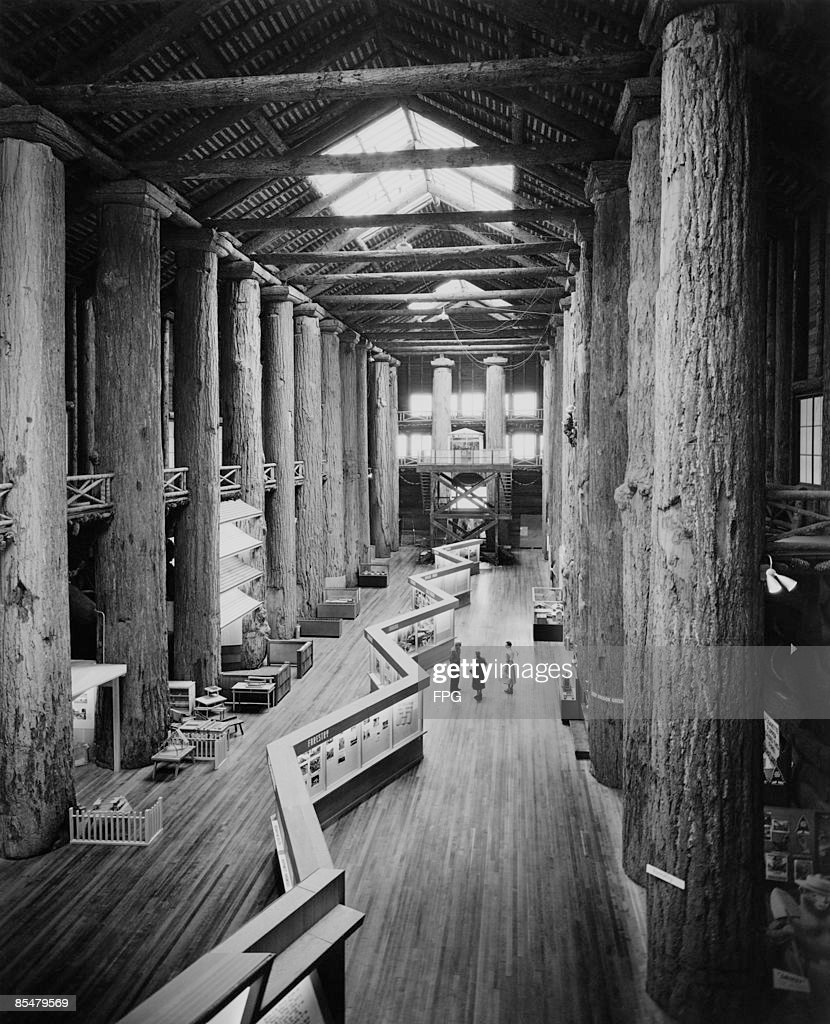 The interior of the forestry building in the world forestry center pictures getty images for Interior car detailing portland or