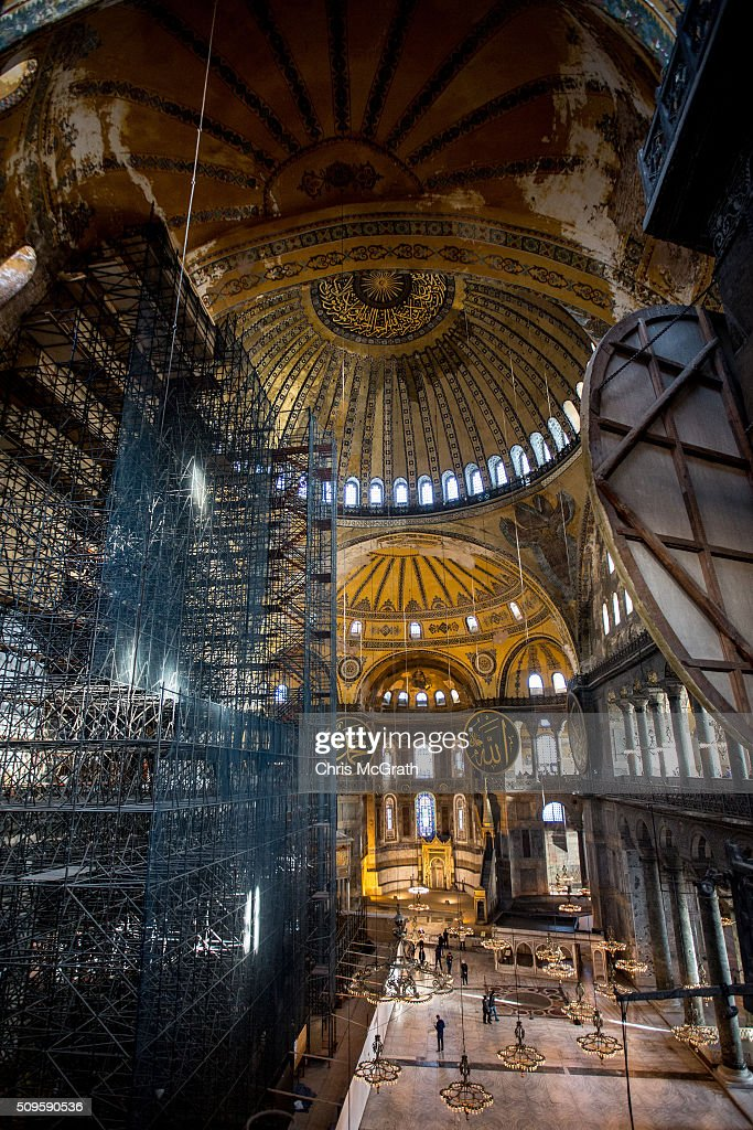 Hagia Sophia Istanbuls Top Tourist Attraction  Getty Images