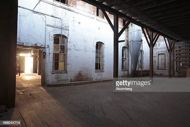 The interior of the Loveland Feed Grain building planned to be renovated into space to be utilized by artists is seen at the Artspace Loveland arts...