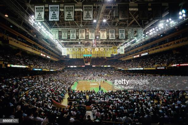 The interior view of the Boston Graden during a game played in 1989 at the Boston Garden in Boston Massachusetts NOTE TO USER User expressly...
