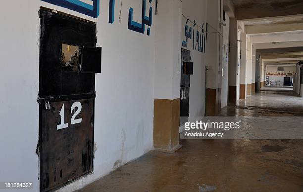 The interior view of the prison in Aleppo on August 21 2013 in AleppoSyria The Aleppo prison in the Al Ray building where about 50 soldiers of Assad...