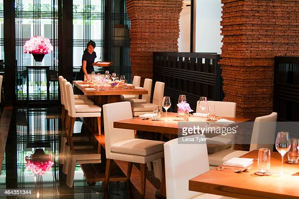The interiors of David Thompson's restaurant Nahm in Bangkok Thompson an Australian native is widely regarded as the world's foremost expert in Thai...