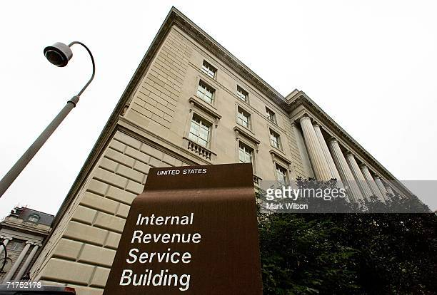 The Internal Revenue Service building is shown August 30 2006 in Washington DC